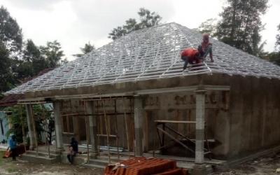 Cara Menghitung dan memasang Atap Baja Ringan Murah